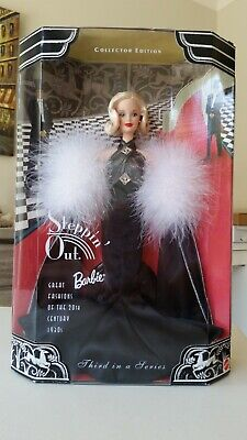 Steppin' Out Barbie Doll Third in a Series Collector Edition 1998 New