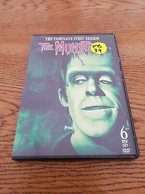 The Munsters the complete first season (6 disc set) DVD