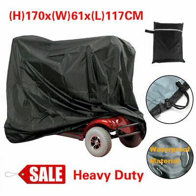 Large BBQ Simplantex Mobility Scooter Storage Rain Cover Waterproof Disability