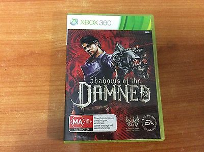 X-BOX 360 Game - Shadows of the Damned - PAL - w/ manual - Excellent Condition