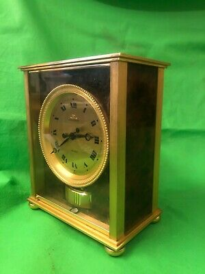A  Rare Jaeger Le Coultre Elysee Swiss 1970's Atmos Clock Offers Welcome