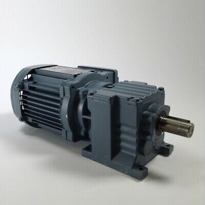 Sew R07 DR63M4 Motor reducer 0.18kW i:29,08 IP54 New NMP