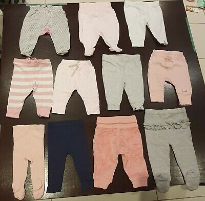 Girls Assorted Leggings. $25 for all 11 pairs. All in good condition! Size- 0-3m