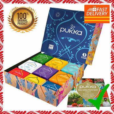 Pukka Tea Collection Selection Box Herbal Organic Teas