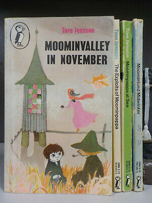 Tove Jansson - Moomins - 4 Books Collection! (ID:6034)