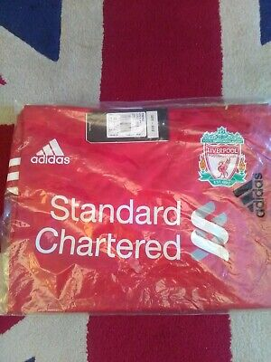 BNWT Vintage Deadstock LIVERPOOL Home Adidas 2010-12 Shirt X Large XL Un-opened