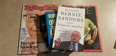 Bernie Sanders Book and Magazine Collection 2016 Presidential Candidate