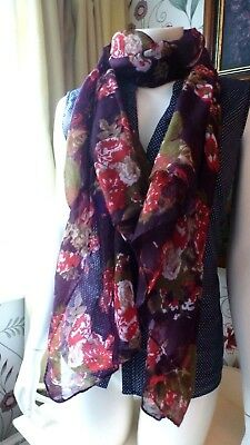 Ladies*Girls*Floral*Colour*Scarf*Women*Pretty*