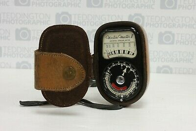 Sangamo Weston Master II Universal Exposure Meter with Case