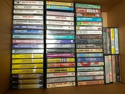 Random Blues Cassette Tapes Huge Lot Of 150 SOME GOSPEL R&B SOUL