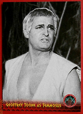DR WHO AND THE DALEKS - Card #44 - GEOFFREY TOONE as Temmosus - Unstoppable