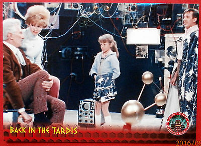 DR WHO AND THE DALEKS - Card #17 - Back in the TARDIS - Unstoppable Cards 2014