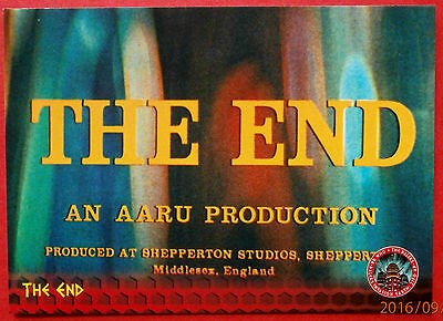 DR WHO AND THE DALEKS - Card #18 - THE END - Unstoppable Cards 2014
