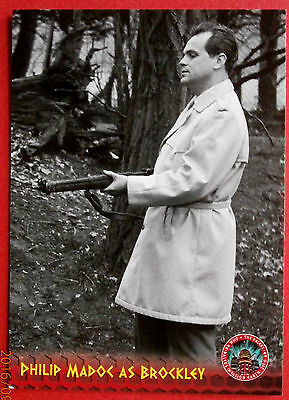 DR WHO AND THE DALEKS - Card #49 - PHILIP MADOC as Brockley - Unstoppable Cards