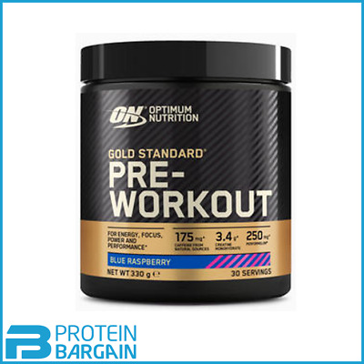 Optimum Nutrition Gold Standard Pre Workout 330g + ON WATER JUG BEST PRICE