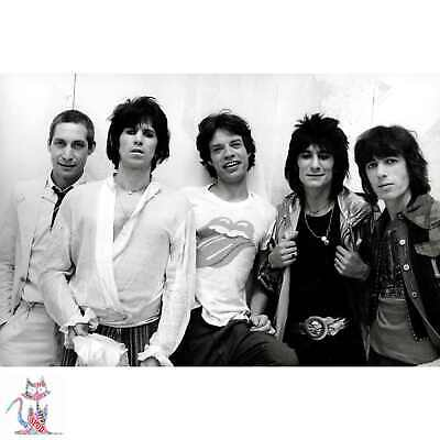 Rolling Stones Photo Poster Coffee Cup Canvas (B1439)