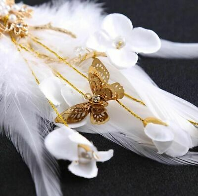 Rhinestones Hair Clips Crystal Flower Feather Shapes Hairpins Trendy Style Women