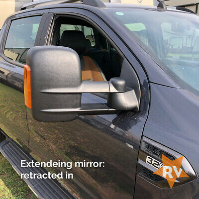 Ford Ranger Towing Mirrors • Widtrack Towing Mirrors • Extending Mirror Ford T6