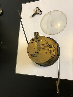 Vintage Clock Mechanism- Japy Freres Mechanism, Movement- For Spares Or Repair