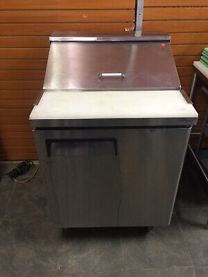 """27"""" Stainless Steel Refrigerated Sandwich Prep Table-120v"""