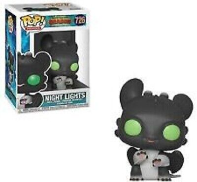 Night Light #726 How To Train Your Dragon Pop Movies Vinyl Figure Funko New