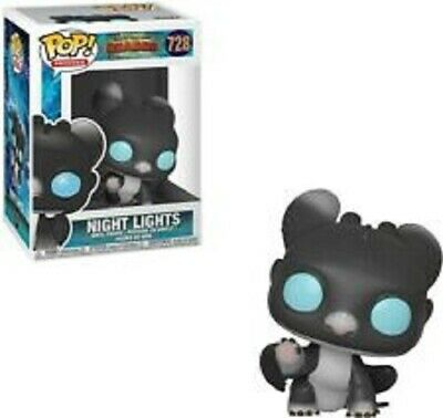 Night Light #728 How To Train Your Dragon Pop Movies Vinyl Figure Funko New