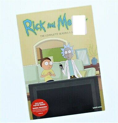 Rick & Morty The Complete Seasons 1-3 DVD