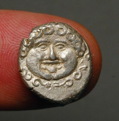 G22-20    Thrace, Apollonia Pontika, Late 5th-4th centuries BC,   Medusa head