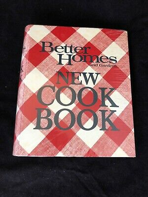 Vintage 1981 Better Homes & Gardens New Cookbook Complete. New And Sealed