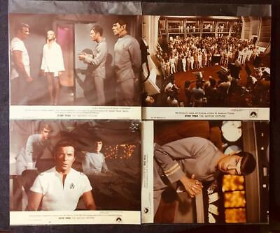 "1978 ""Star Trek The Motion Picture"" PRESS PHOTOGRAPHS, 4 hard to find examples!"