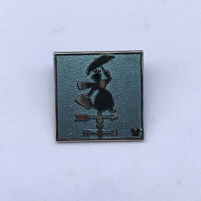 Disney Pin Attraction Weathervanes Mary Poppins Chaser 2019 DLR Hidden Mickey
