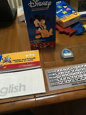 CRICUT MICKEY AND Friends Font Disney Cartridge gently used