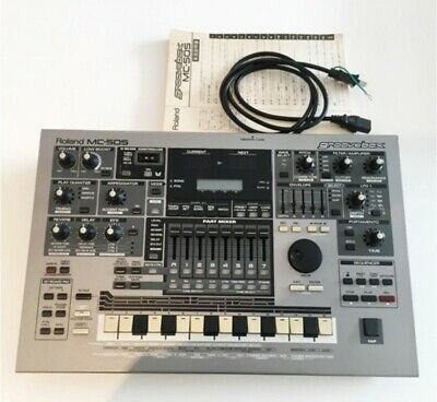 Roland MC-505 Groove Box Synthesizer Drum Machine From Japan [Very good]