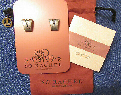 So Rachel Jewelry Roll up Carrying Case NEW Longaberger