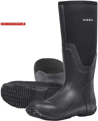 Hisea Muck Hunting Boots For Men Waterproof Insulated Mens Neoprene Rubber Boots