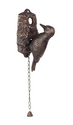 Door - Cast Iron Woodpecker Door Knocker Bronze # 7Jp84