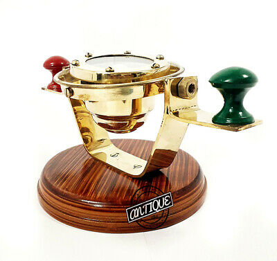 Small Maritime Antiques Binnacle Without Head Compass Nautical marine Design GPS