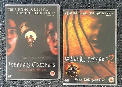 JEEPERS CREEPERS 1 & 2 DVD Original UK Releases ( Region 2)