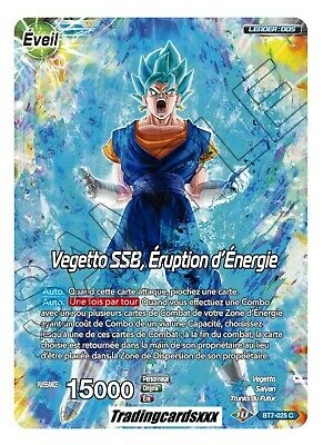 ♦Dragon Ball Super♦ Vegetto SSB, Eruption d'Énergie / Son Goku : BT7-025 C -VF-