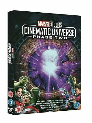 Marvel Studios Cinematic Universe Phase 2 DVD Brand New Sealed Fast & Free Post