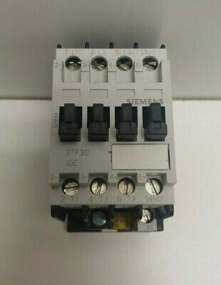 New Old Stock! Siemens 600V 9A 110/120V Coil Contactor 3Tf3010-0A