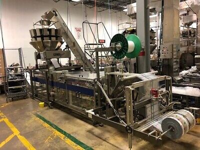 Used APAI Action Packaging Automation Horizontal Form Fill Seal Pouch Machine