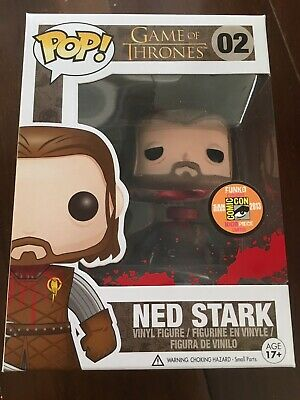 Headless Ned Stark Funko Pop 2013 SDCC Exclusive GoT 1008 pieces