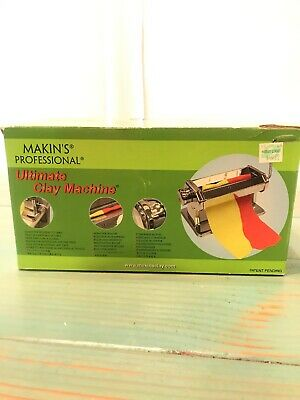 Makins Clay Machine  Professional Ultimate Makins USA, With No Texture Sheets