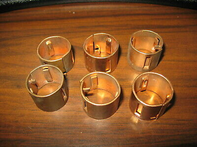 3 Pair, 100 Amp to 60 Amp Lot of 3 sets of Bussmann 616 Fuse Reducers