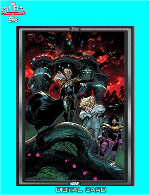 2019 COMIC BOOK DAY OCT 2 SILVER HOUSE OF X #6 Topps Marvel Collect Digital