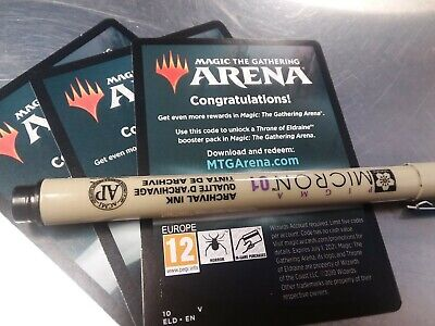 MtG Throne of Eldraine Arena Code Booster Pack Limit 1 per account EMAIL ONLY