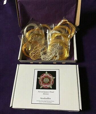 Goldwork Embroidery Purl And Japanese Thread Combination Selection Box