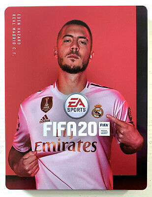 Fifa 20 Steelbook - without Game (PC PS4 Xbox One) (New) (Quick Dispatch)