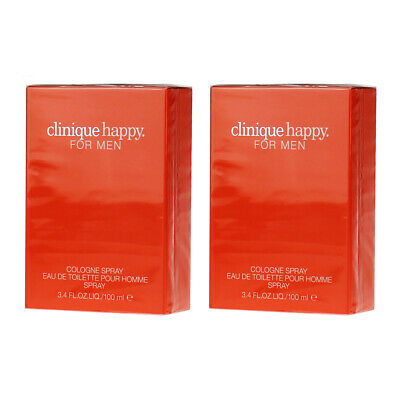 Clinique Happy for Men - Eau de Cologne EDC 100ml - 2x